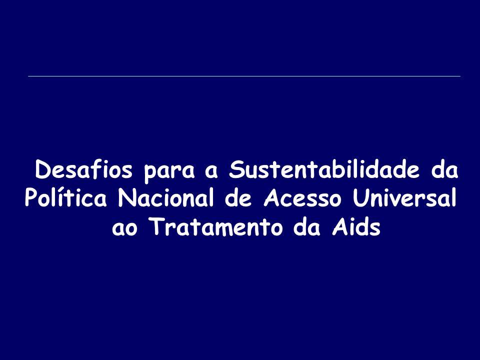 Desafios para a Sustentabilidade da Política Nacional de Acesso Universal ao Tratamento da Aids