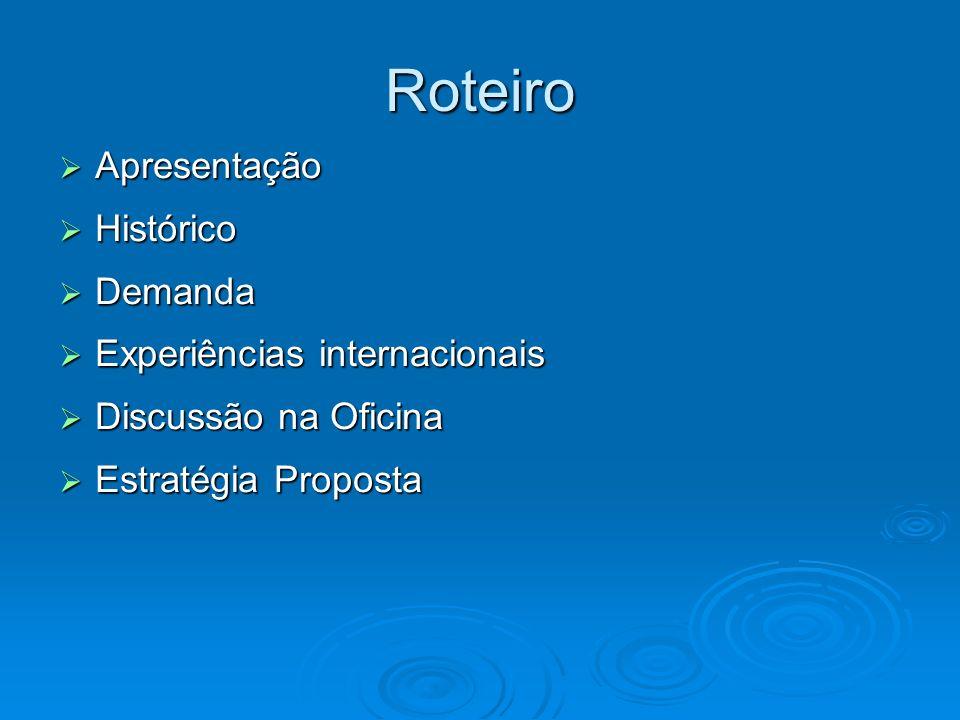 Apresentação Tema Tema Pertinência de uma estratégia associativa de Gestão da Transferência de Tecnologia para as Instituições de Ensino e Pesquisa Brasileiras.