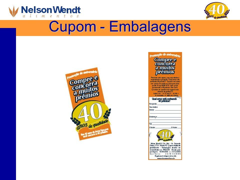 Cupom - Embalagens