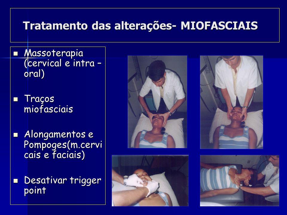 Tratamento do complexo- CRÂNIO-VERTEBRAL