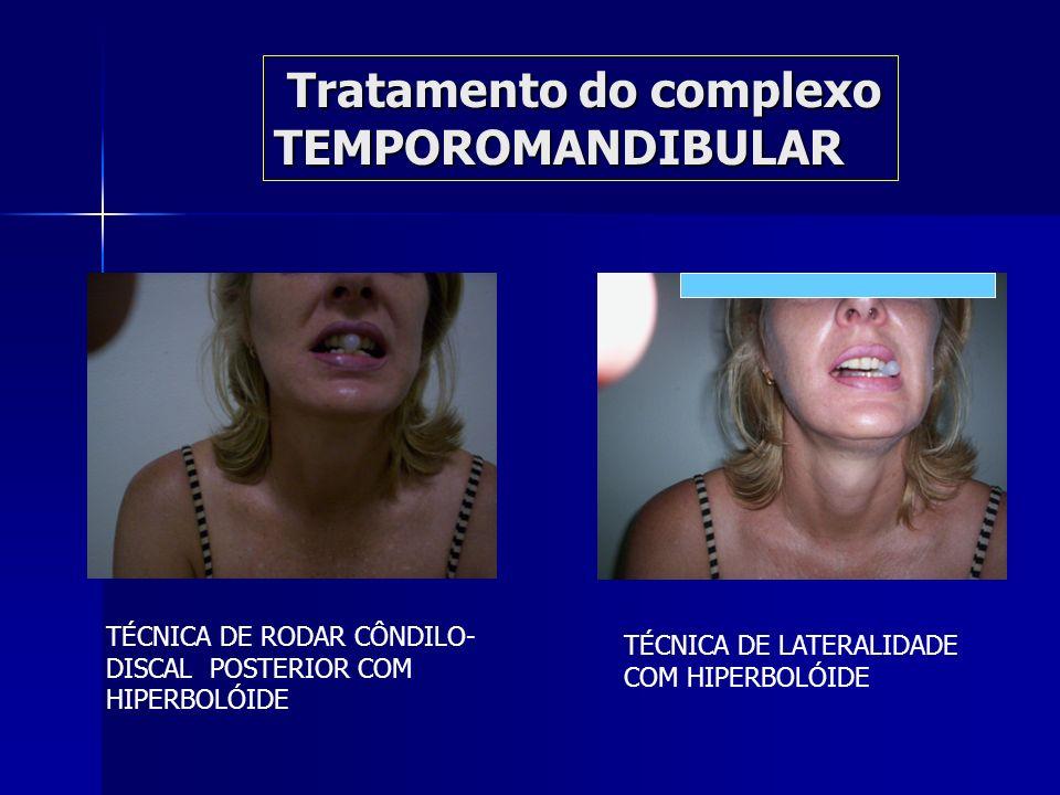 Controle de rotação e translação (complexo côndilo discal)