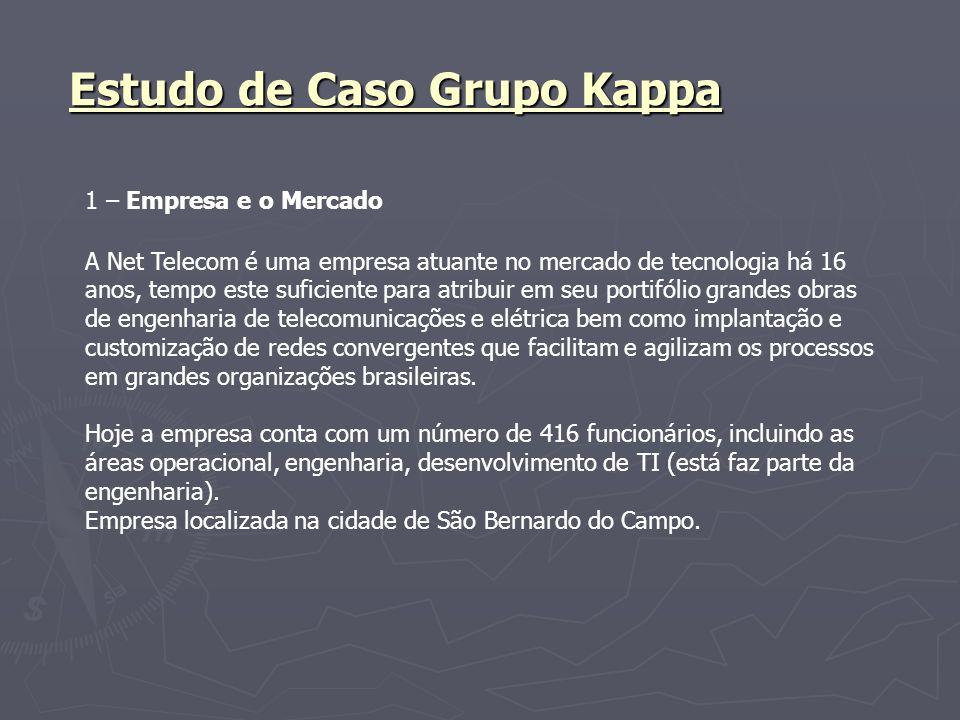 Apresentação e análise de visão da área de negócios sobre a área de TI da empresa.