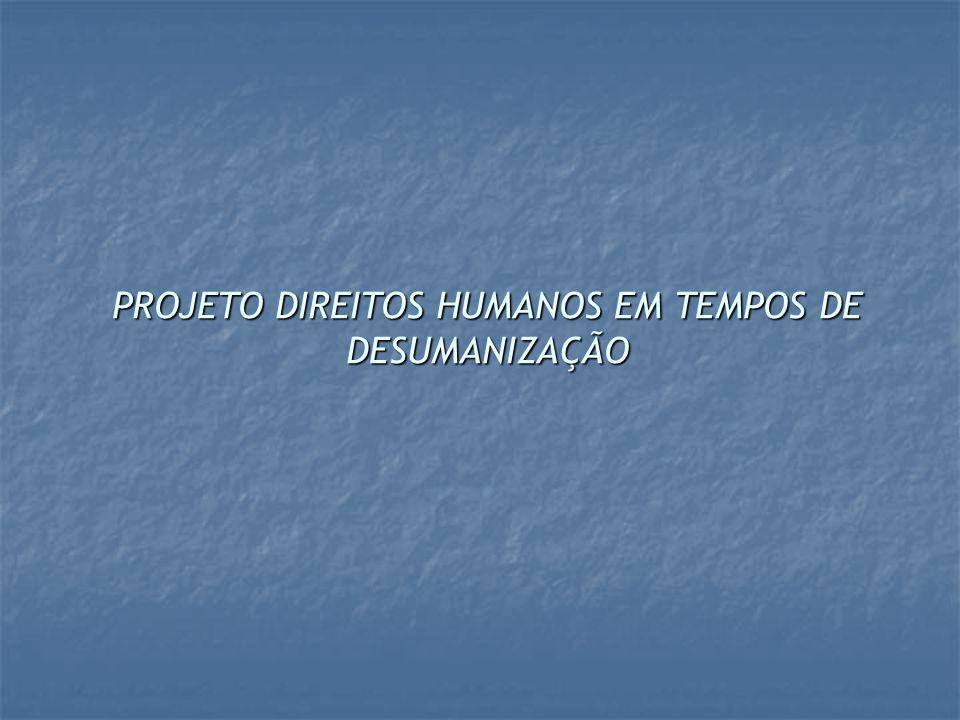 AÇÕES DESENVOLVIDAS: O projeto contou com ações distintas, porém, intrinsecamente relacionadas: o o 1ª) Formação de professores(a) e gestores(a) da educação básica; o o 2ª) Fortalecimento do Comitê Estadual de Educação em Direitos Humanos (CEEDH); o o 3ª) Realização do Cadastro Institucional de experiências em Educação em Direitos Humanos; o o 4ª) Criação de um Núcleo de Extensão Universitária em Educação em Direitos Humanos (NUEDH)