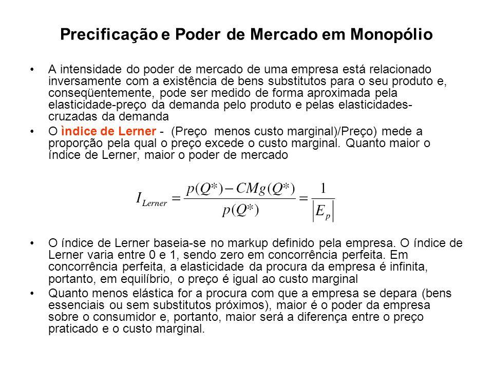 Discriminação de preços e Monopólio A prática de cobrar preços diferentes pelo mesmo produto designa-se por discriminação de preços.