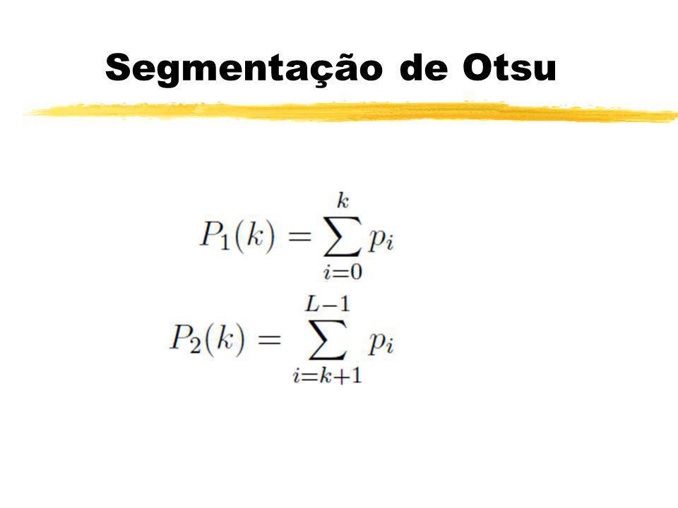 Segmentação de Otsu