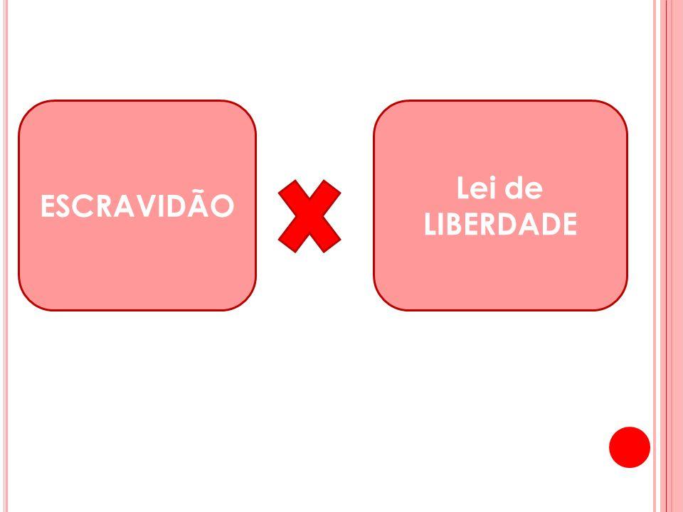 ESCRAVIDÃO Lei de LIBERDADE