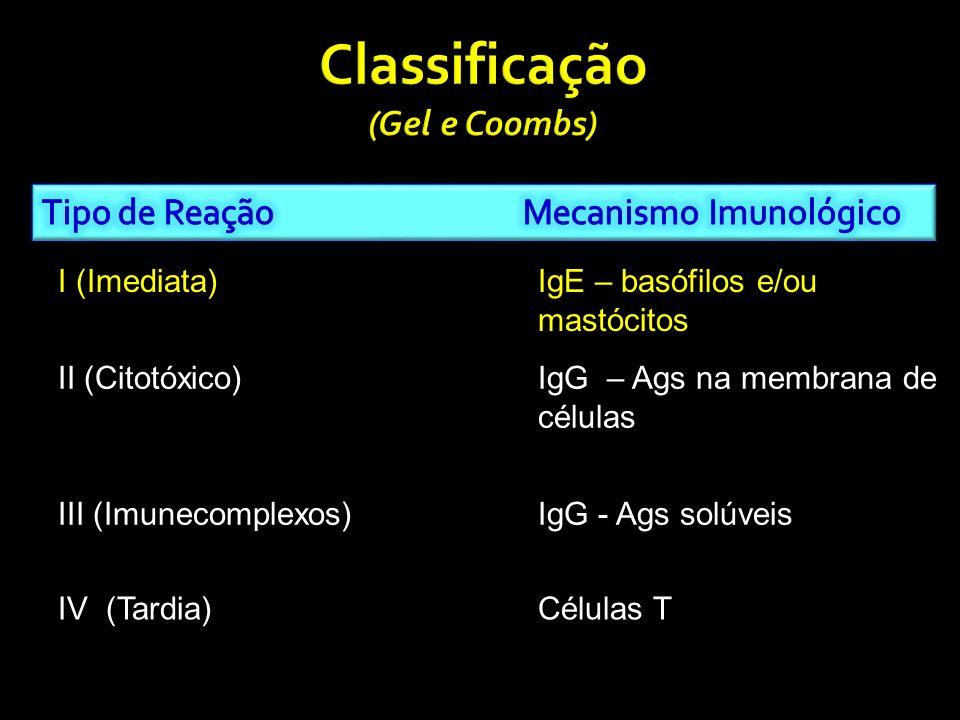 Decorrente do efeito citopático de Acs, dirigidos contra Ags presentes na superfície ou matriz celular.
