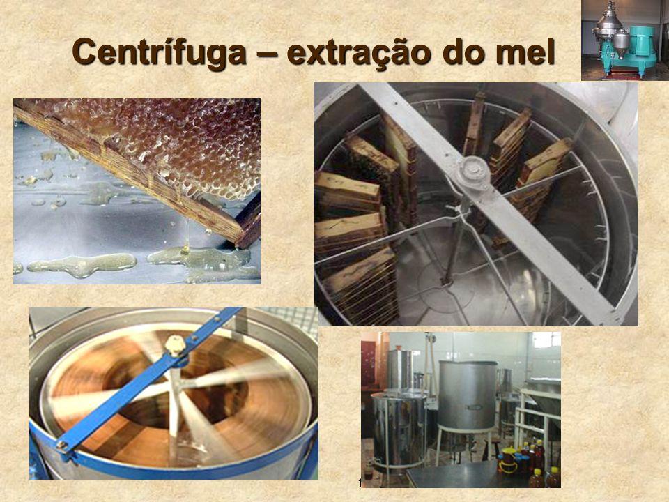 13 Centrífuga – extração do mel