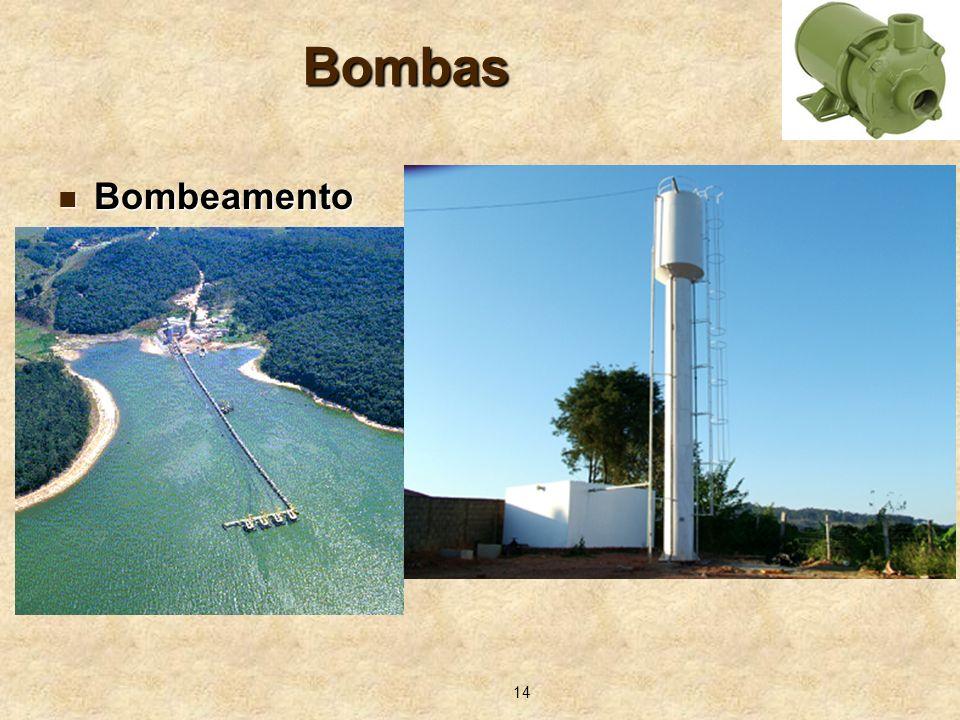 14 Bombas Bombeamento Bombeamento