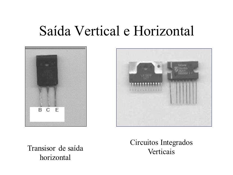 Características do transistor Q1 A função de Q1 no monitor da figura acima é driver horizontal.