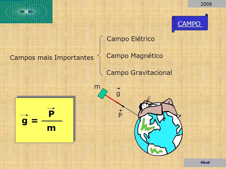 Uma Carga Elétrica influi no espaço ao seu redor. Q+ Abud