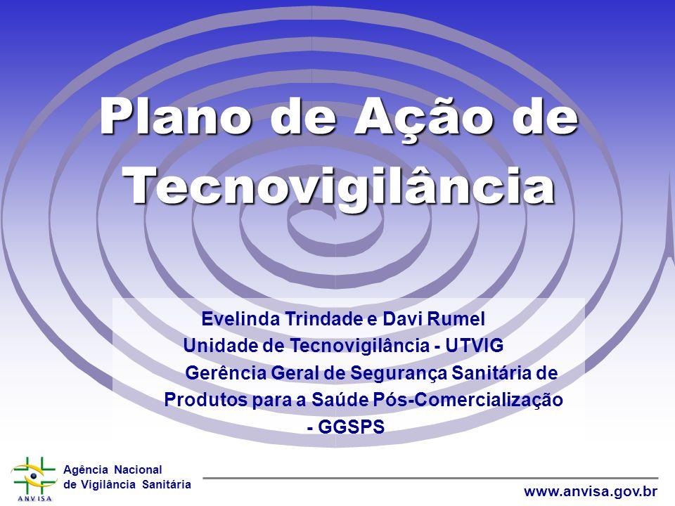 Agência Nacional de Vigilância Sanitária www.anvisa.gov.brObjetivos: 1.Comparar a prática de controle de qualidade e segurança de materiais e equipamento médicos entre 50 hospitais universitários brasileiros e um sistema integrado de saúde canadense.
