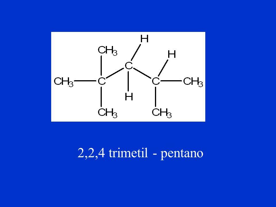 2-metil-pentano Radical Cadeia