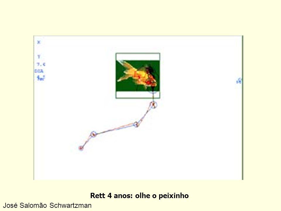 Rett 4 anos: olhe o peixinho José Salomão Schwartzman
