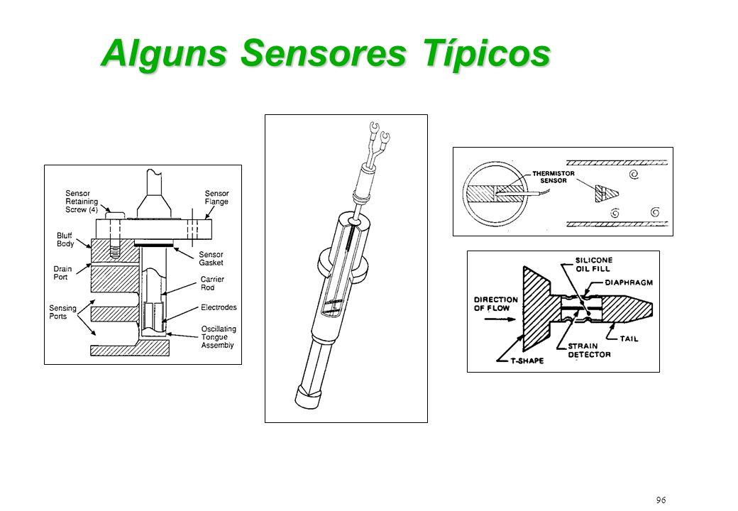 96 Alguns Sensores Típicos
