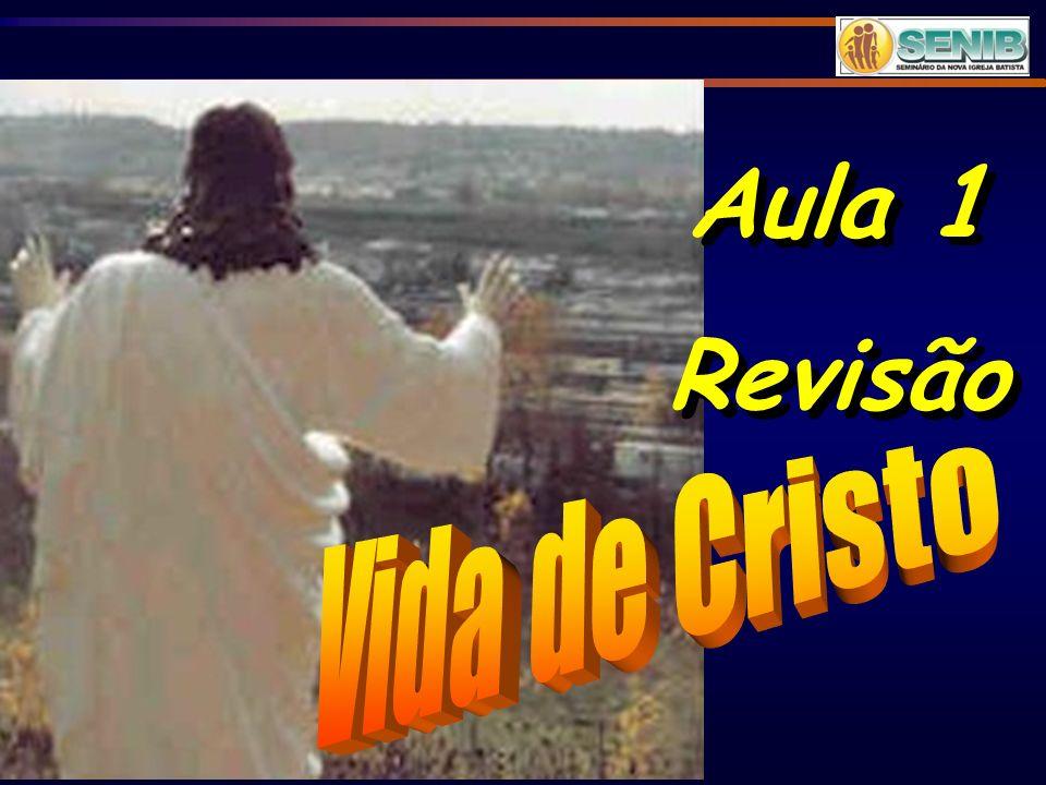 1- INTRODUÇÃO A história da vida de Jesus Cristo encontra-se em toda Bíblia.
