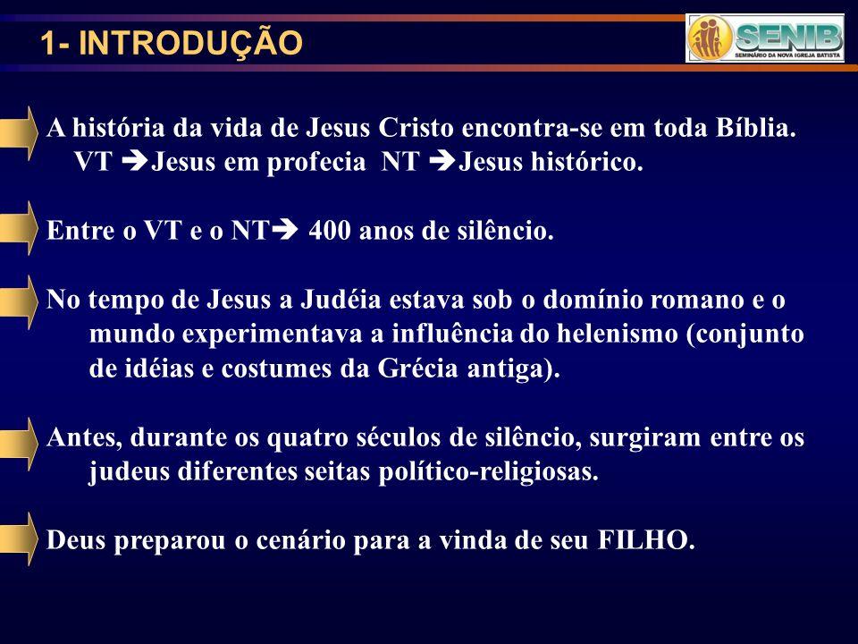 2- Seitas político-religiosas na época de Cristo. TEOCRACIA JUDAICA