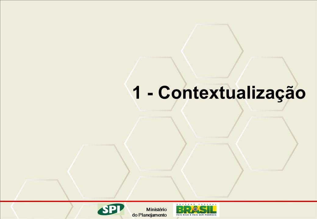 Ministério do Planejamento 1 - Contextualização