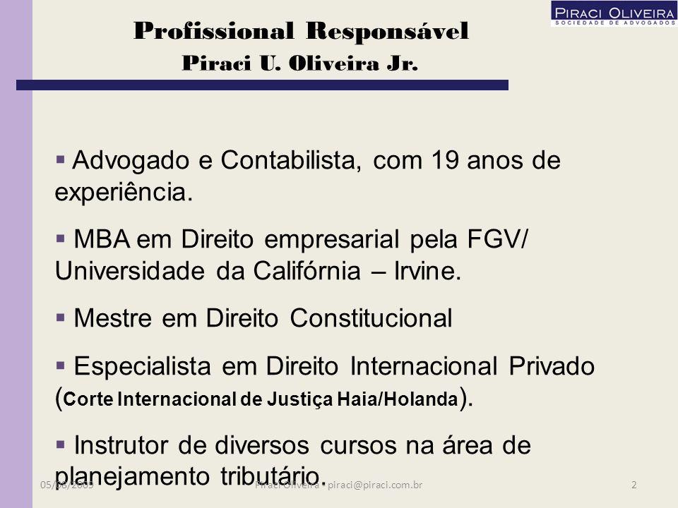 06/08/20091Piraci Oliveira - piraci@piraci.com.br