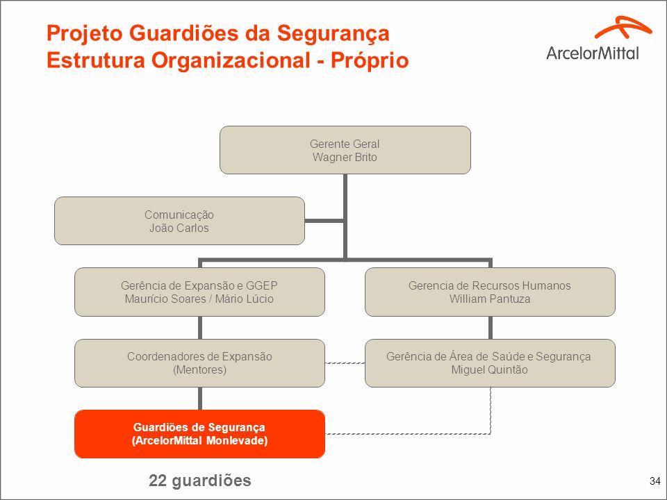 33 Projeto Guardiões de Segurança Plano de Treinamento