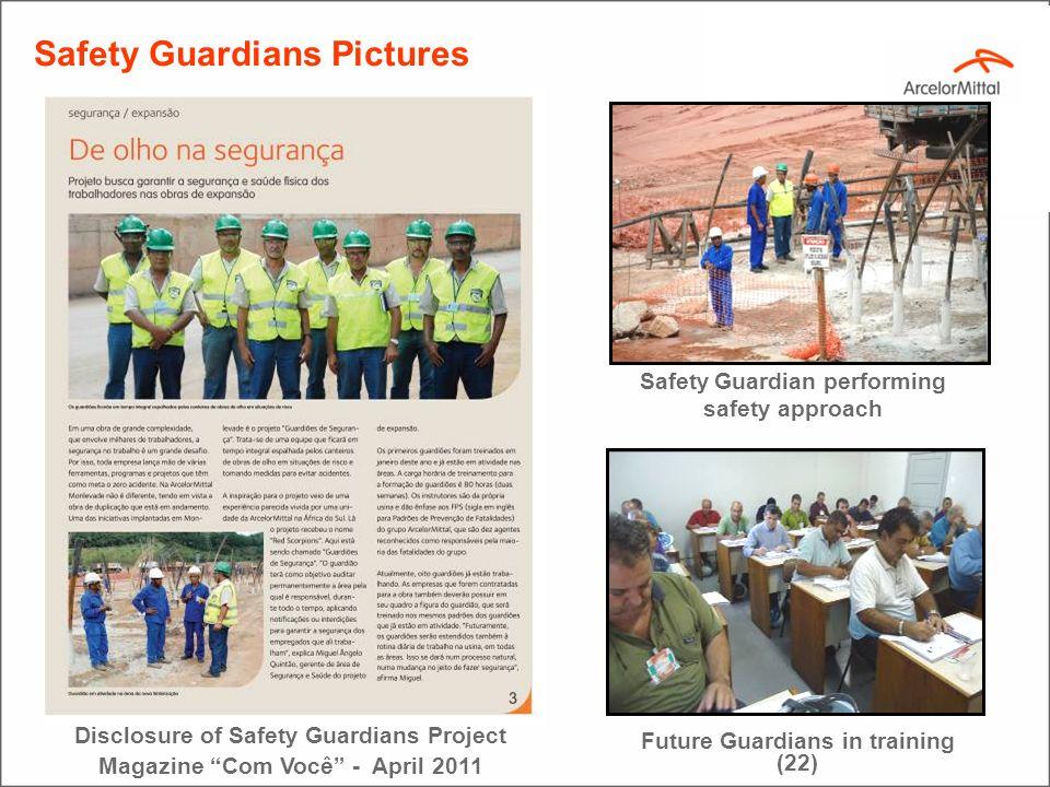 36 Resumo do Trabalho do Guardião COORDENADOR DA GGEP/ACIARIA GUARDIÕES ACIARIA Premissa básica: vigiar, identificar e trabalhar para a eliminação de