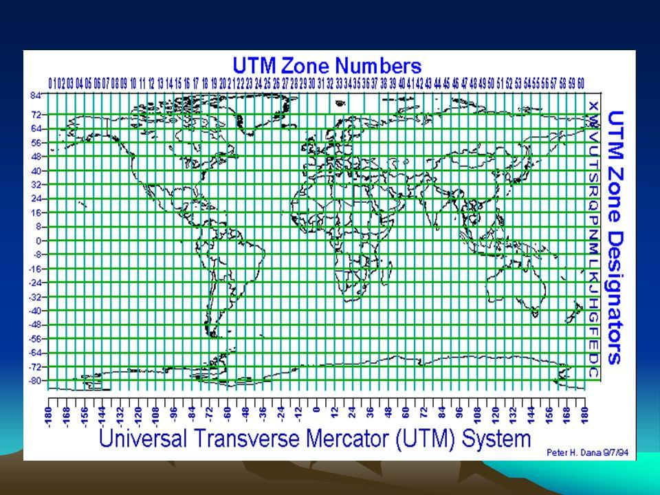 u Decomposição em sistemas parciais, correspondentes aos fusos de 6º de amplitude, limitados pelos meridianos múltiplos desse valor, ou seja, meridian
