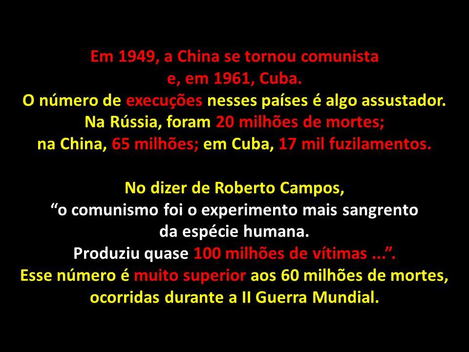 Para compreender a crise de 1964 é preciso conhecer os seus antecedentes. O comunismo começou na Rússia, em 1917. Sua força revolucionária contaminou