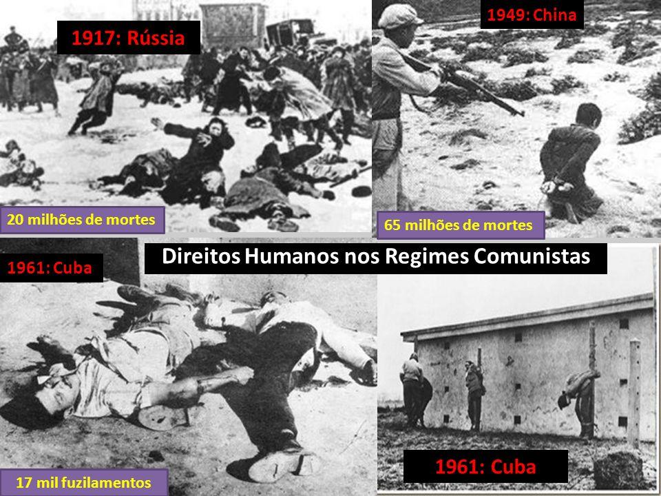 Essa tragédia perpetrada pelo comunismo está no Livro Negro do Comunismo, escrito por seis historiadores europeus, com base nos arquivos soviéticos, a