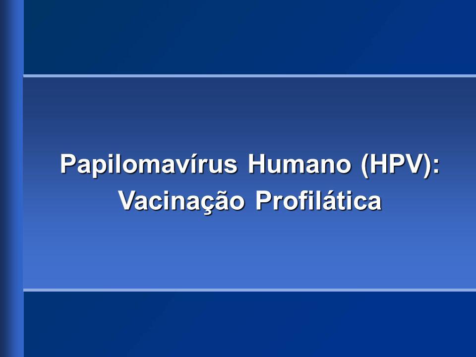 Papilomavírus Humano (HPV): Vacinação Profilática
