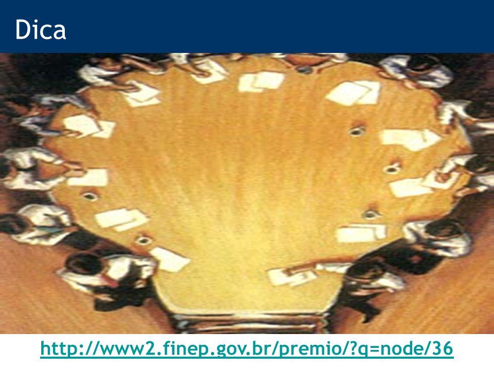27 Dica http://www2.finep.gov.br/premio/ q=node/36
