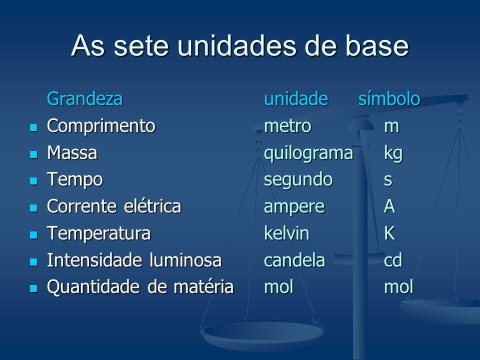 www.posmci.ufsc.br 2.3.1 As sete unidades de base
