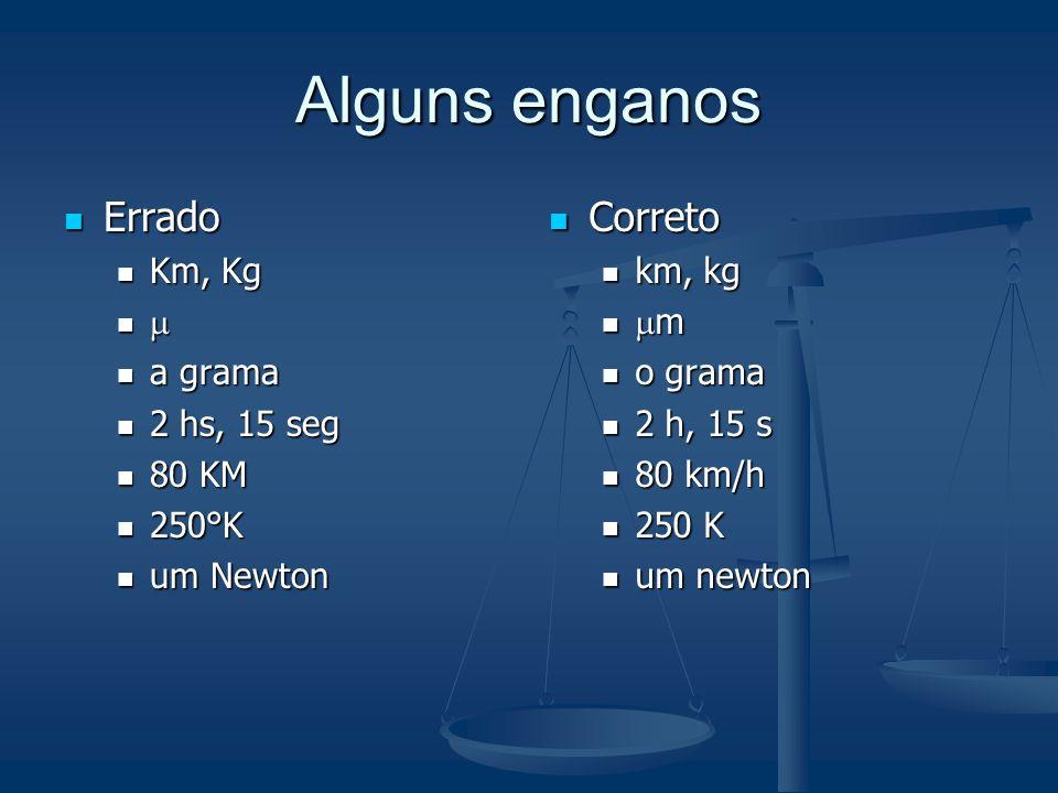 Grafia dos números e símbolos Em português o separador decimal deve ser a vírgula. Em português o separador decimal deve ser a vírgula. Os algarismos