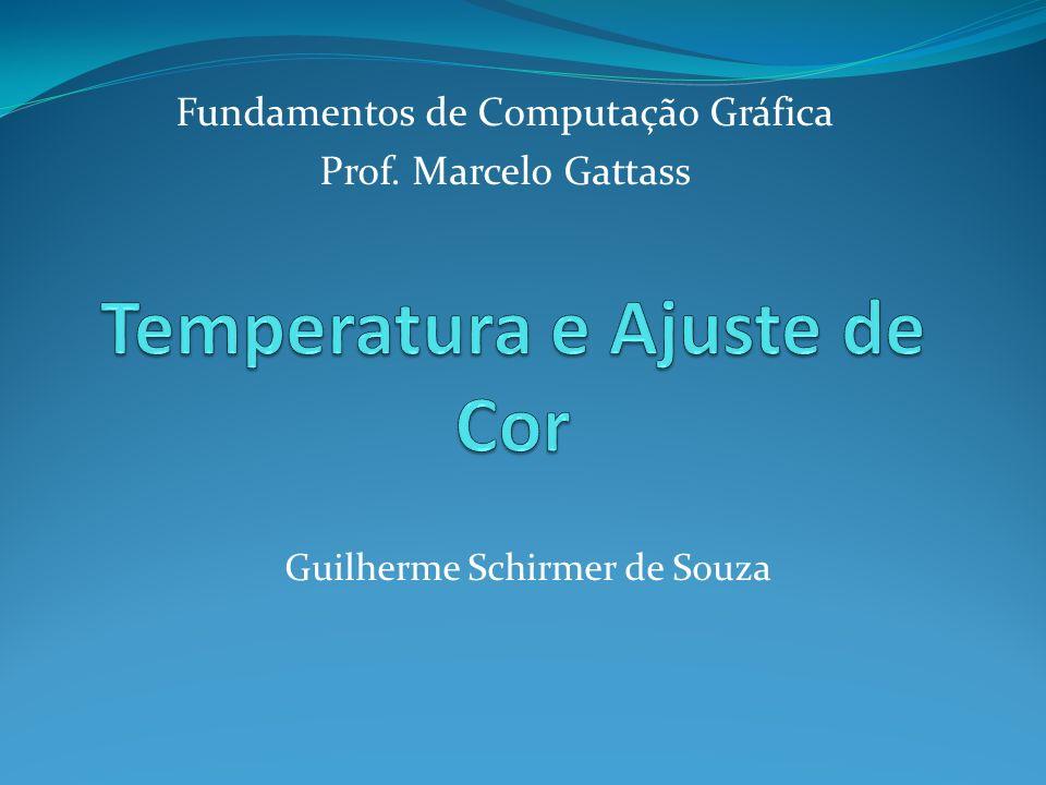Fundamentos de Computação Gráfica Prof. Marcelo Gattass Guilherme Schirmer de Souza