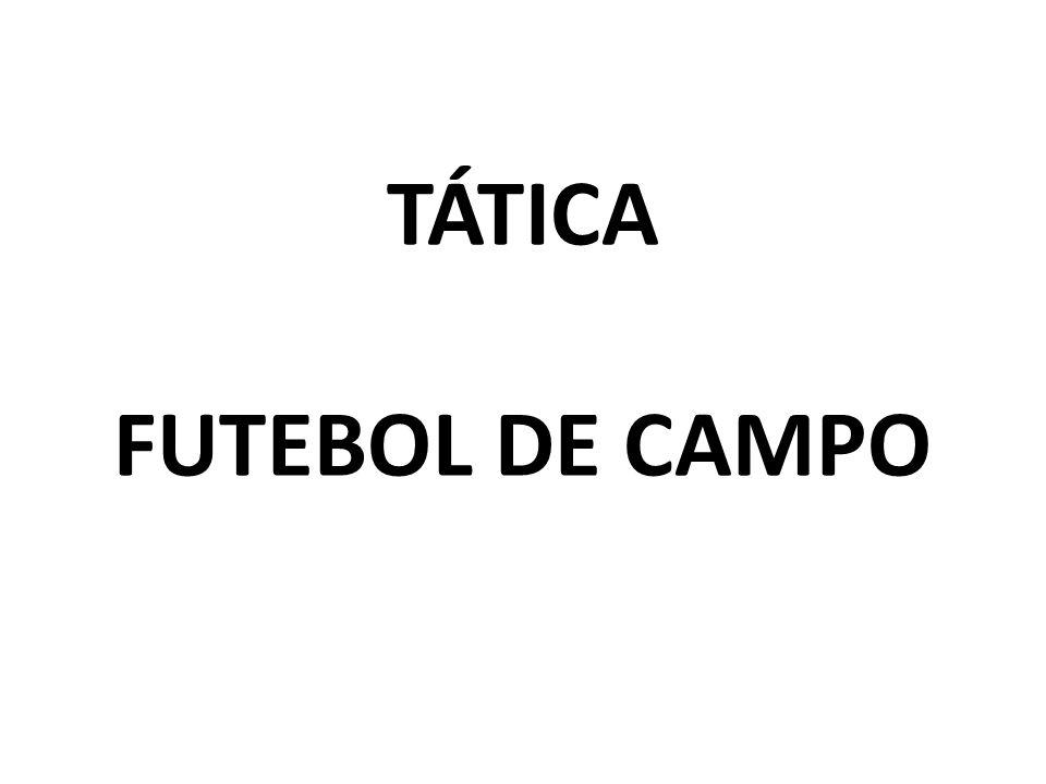 TÁTICA FUTEBOL DE CAMPO