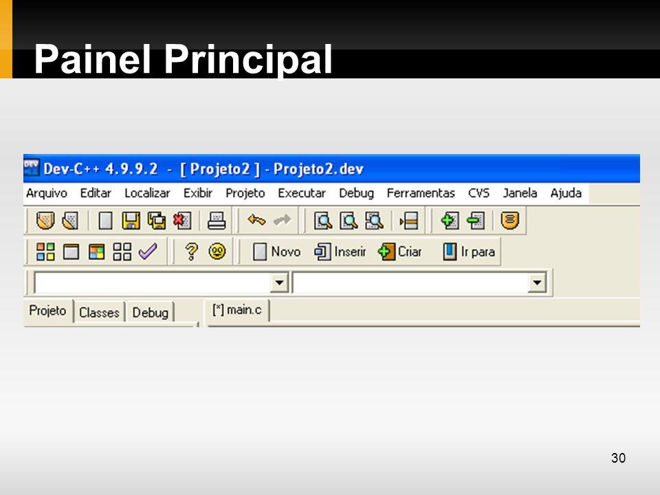 Painel Principal 30