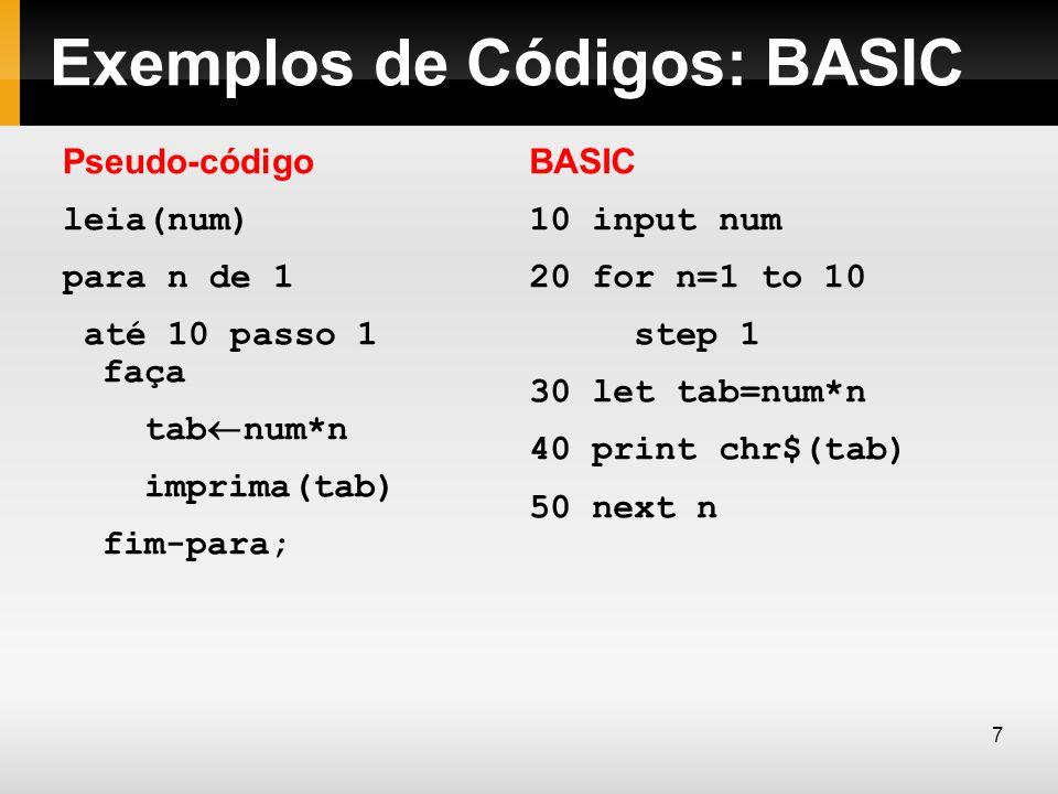 Constantes caracteres As constantes do tipo caracter consiste em um simples caracter colocado entre apóstrofos.
