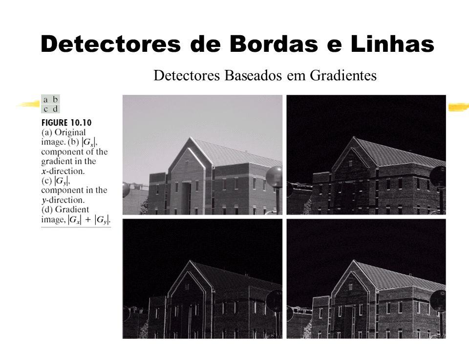 Detectores de Bordas e Linhas Detectores Baseados em Gradientes