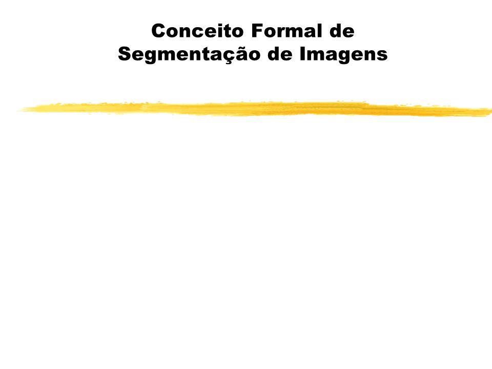 Conceito Formal de Segmentação de Imagens