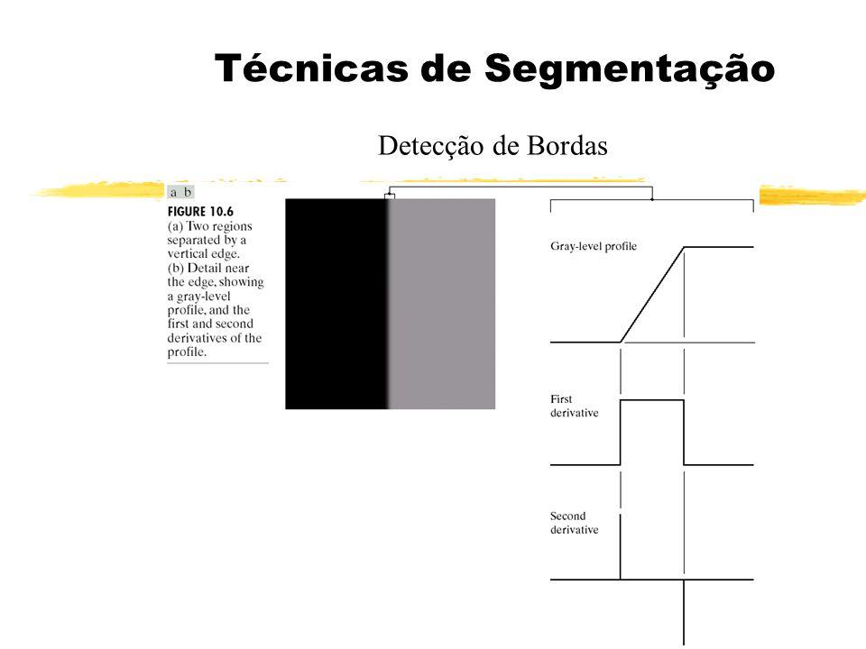 Detectores de Bordas e Linhas Detectores Combinados de Bordas e Linhas