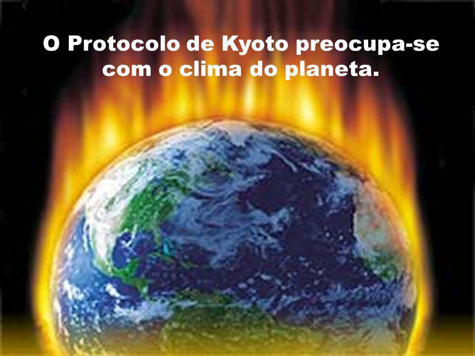 Protocolo de Kyoto Protocolo de Kyoto Países em desenvolvimento, a exemplo do Brasil, México, Argentina, Índia e principalmente a China, não receberam, por ora, metas de redução.