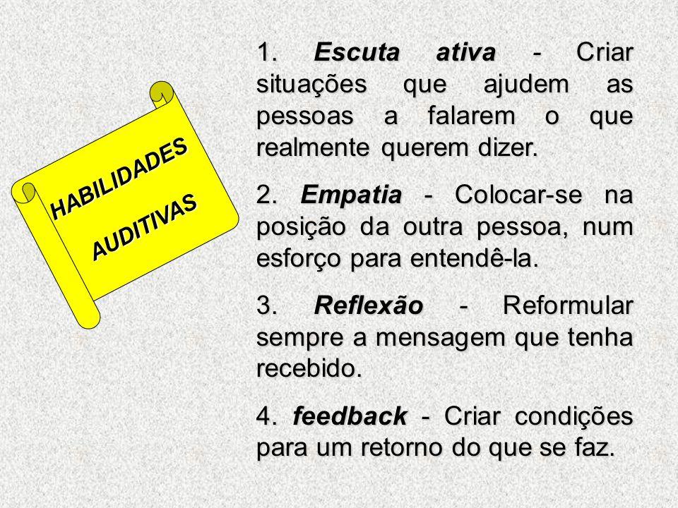 1. Usar linguagem apropriada e direta. 2. Fornecer informações tão claras e completas quanto for possível. 3. Usar canais múltiplos para estimular vár