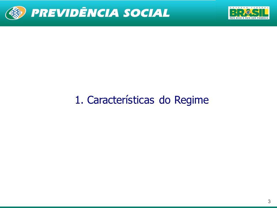3 1. Características do Regime