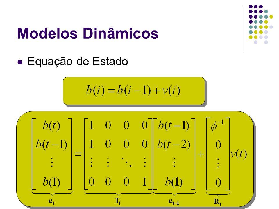 Modelos Dinâmicos Equação de Estado