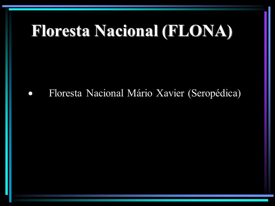 Floresta Nacional (FLONA) Floresta Nacional Mário Xavier (Seropédica)