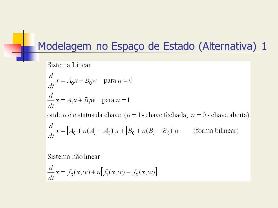 Modelagem no Espaço de Estado (Alternativa) 1