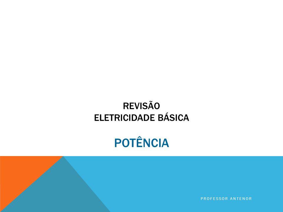 A 1ª lâmpada possui maior RESISTÊNCIA ELÉTRICA. 1,0 A 100 V 0,5 A 100 V A 2ª lâmpada possui menor RESISTÊNCIA ELÉTRICA. PROFESSOR ANTENOR