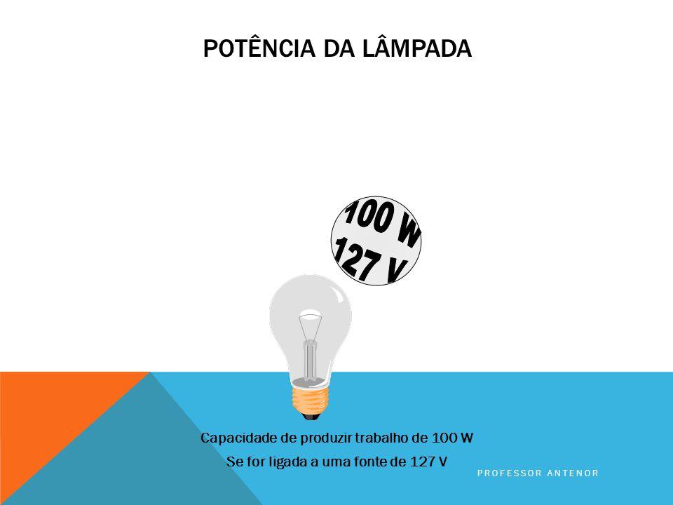 Da mesma maneira as cargas elétricas possuem uma capacidade de produzir trabalho. A capacidade de produzir trabalho de uma carga elétrica é expressa e