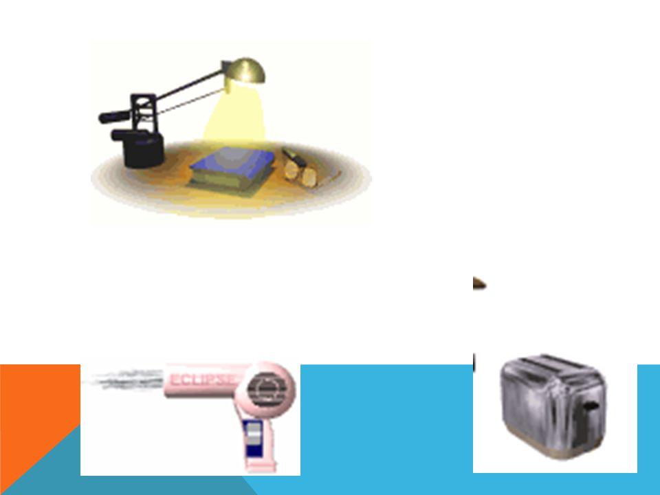 Veja alguns exemplos que utilizam a energia elétrica: