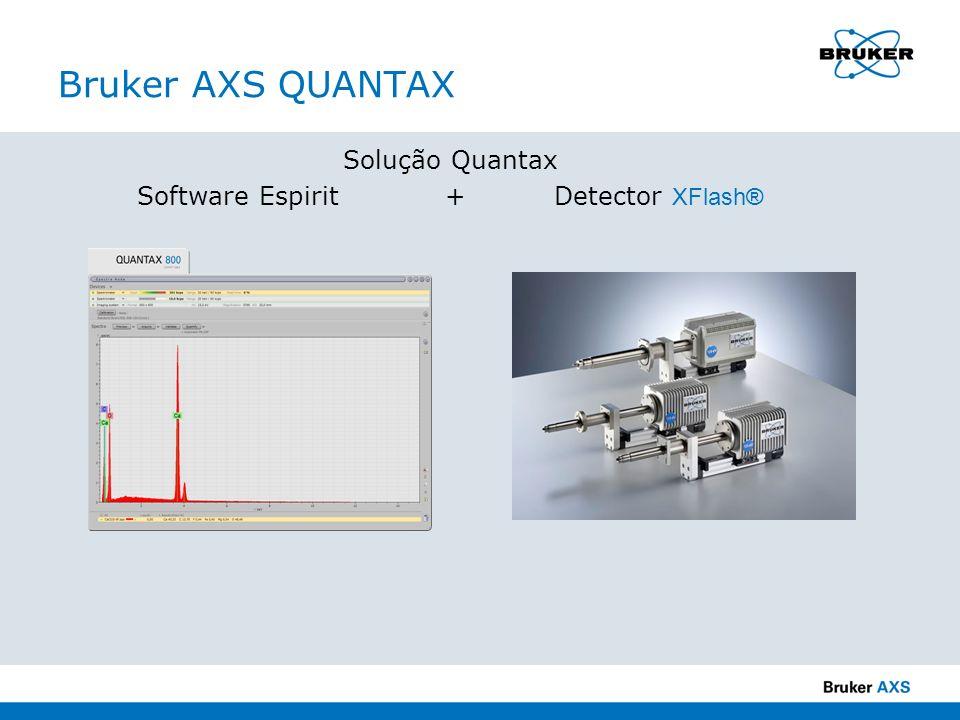 Bruker AXS QUANTAX Solução Quantax Software Espirit + Detector XFlash®