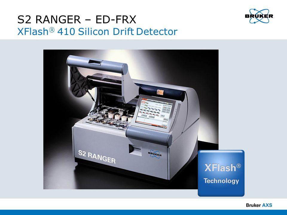 S2 RANGER – ED-FRX XFlash ® 410 Silicon Drift Detector